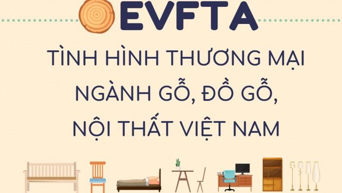 EVFTA: Tình hình thương mại ngành gỗ, đồ gỗ, nội thất Việt Nam