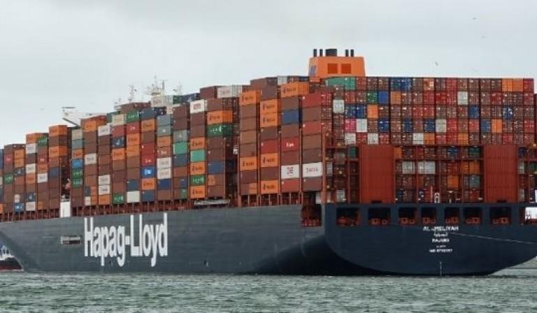 Hapag-Lloyd thông báo phụ phí Tăng giá chung (GRI) trên các tuyến từ Đông Á đến Mỹ và Canada