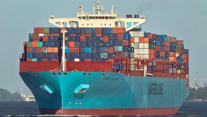 Maersk Eindhoven mất hàng trăm container ở Thái Bình Dương