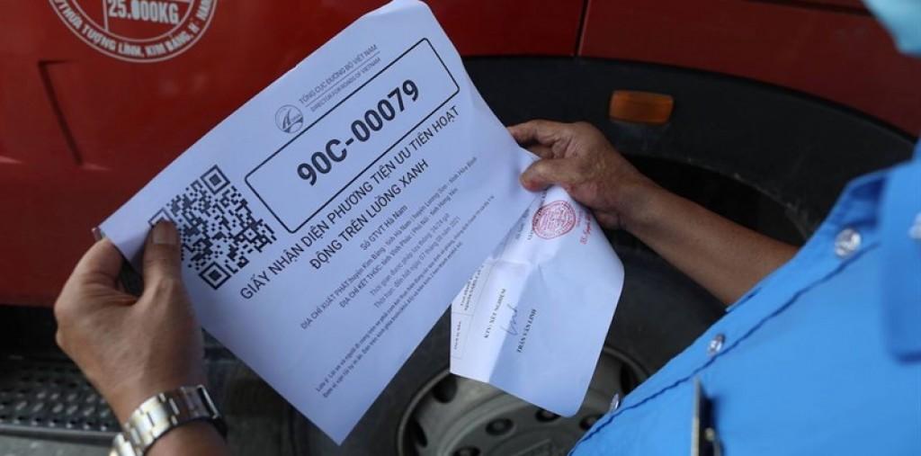 Cách đăng ký mã QR luồng xanh xe tải trên drvn.gov.vn